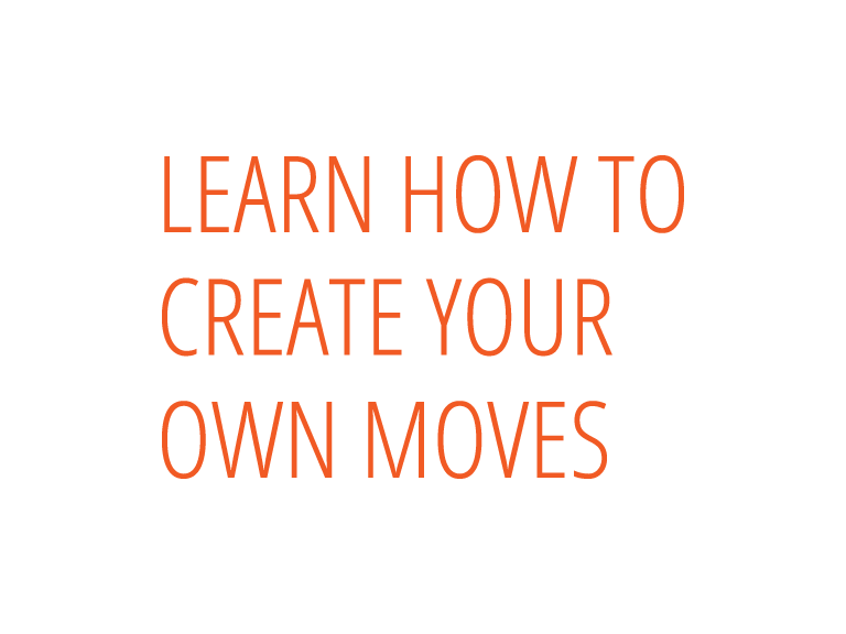 Learn how to create your owm moves